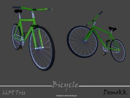 Green Bicycle by Demokk