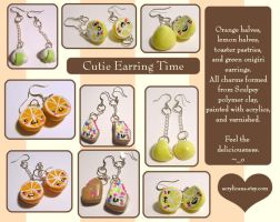 Yummy Earrings by tedsie