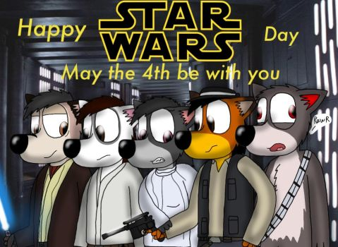 May the 4th be with you (2017) by ZachMFKAttack