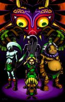Majora's Mask by Red-Flare