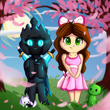 Le Poopular Moose and GamingwithJen by TacoNoobGamer