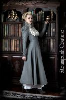 The Lady Grey Coat by ByKato