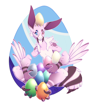 Saberbunny Easter Event (Rexbirb) by NothingSpecialx9