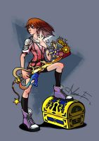 Master Kairi - The Princess of Pure Light by PictorIocus