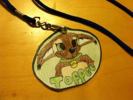 Toffee's furry badge! by CookieMonsta409