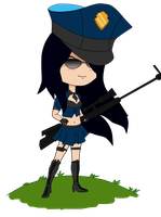 Caitlyn Chibi by soiden135