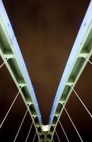 salford quays footbridge 4 by redux