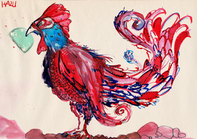 26. Rooster by hazumonster