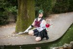 Sailor Pluto cosplay by BlakeCosplay