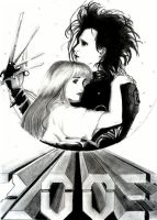 Edward Scissorhands by Sondra