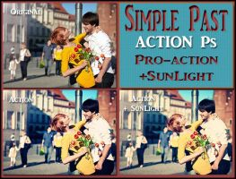 Simple past ACTION Ps by Tetelle-passion