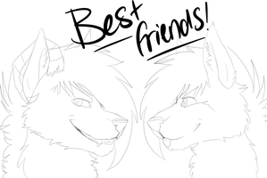 You are my best friend! by BlueGriffyon