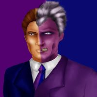 Two-Face by marron