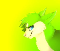 Green is awesome by Smushey