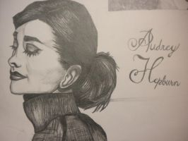 Close up Audrey Hepburn by ScFiGirl