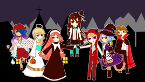 UTAU | Dream Meltic Halloween by SpanishPandaHero