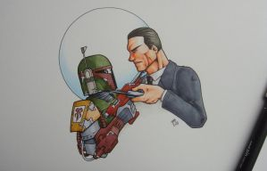 The Bounty Hunters by DanielRound