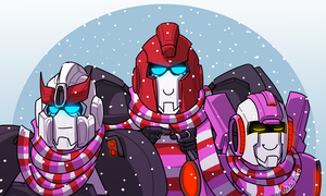 Wintertime is scarftime by VolverseLoco
