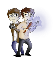 Miles and Jack by ingloriousCardinal