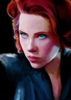 [AVENGERS] Black Widow. by AnEndlessVanity