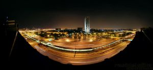 I-290 Chicago pano by delobbo