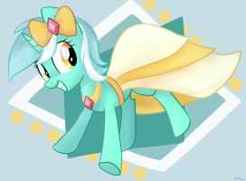 Lyra has a Gala Dress! by artoftheghostie