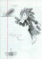 Krazy the Phoenix by krazykyuubilv3