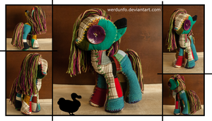 Quilt Monster . . . Pony by weRDunfo