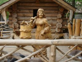 The Wooden Lady by Eriseite