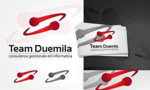 TeamDuemila logo design by dsquaredgfx