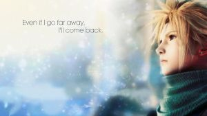 Even if you Go Far Away Cloud Wallppr by JesterHikaru