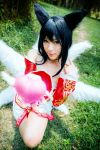 LoL Ahri : Charm by Itchy-Hands