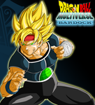 Bardock Colored :Ruga-Rell Lineart: by JamalC157