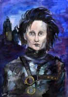 Edward Scissorhands by Le-ARi