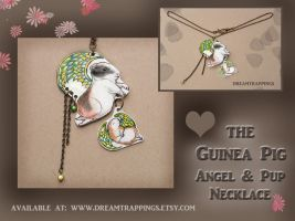 SOLD Guinea Pig Angels by natamon