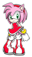 Color pratice: Amy Rose by AmyRose507