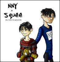 Nny x Squee by lint