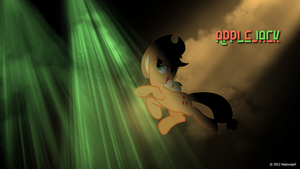 Applejack can party hard Wallpaper by nsaiuvqart