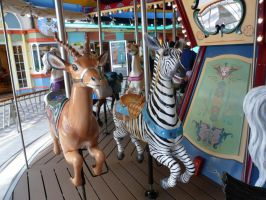 Carousel Animals by CaptainSpinFiction