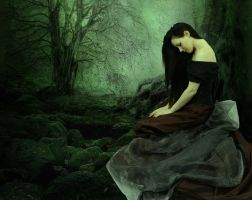 Solitude In Green by Wykked-Good