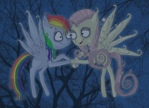 Simply meant to be by Little-Horrorz