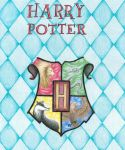 Color Study 3- Harry Potter Crest -Full by ChanelChristine