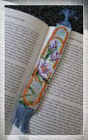 Flowers Bookmark 3 by lonely--soldier