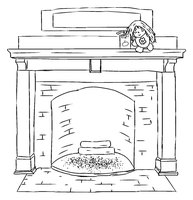 Fireplace by tehfusion