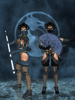 Kitana Primary - Mortal Kombat X (IOS) by romero1718