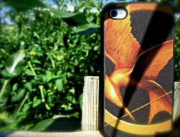 iPhone....Hunger Games Style by braidsandarrows