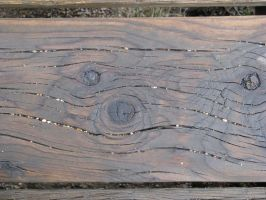 00036 - Wooden Bench Plank with Gravel by emstock