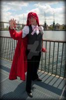 Grell the Flamboyant by AkraruPhotography
