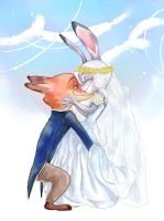 Wildehopps Wedding (Coloring) by sk1symphony
