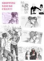 Shipping Sasuke chan by Sanzo-Sinclaire